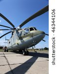 Russian Military Helicopter