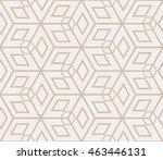 complex geometry pattern.... | Shutterstock . vector #463446131