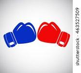 boxing gloves | Shutterstock .eps vector #463527509