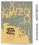 grunge texture.grunge vector...   Shutterstock .eps vector #463578419