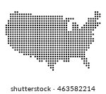 map of usa | Shutterstock .eps vector #463582214