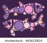 pisces shape vector design by...