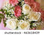 soft color roses background | Shutterstock . vector #463618439
