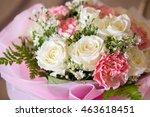soft color roses background   Shutterstock . vector #463618451