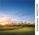 barigui park   curitiba urban... | Shutterstock . vector #463627349