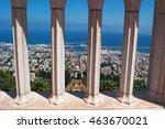 Israel  View Of Haifa And The...