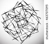 geometric abstract illustration ... | Shutterstock .eps vector #463707095
