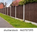 Close Board Fence Erected...