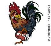 vector illustration of cock... | Shutterstock .eps vector #463710935