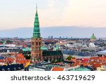 Copenhagen Skyline By Evening....
