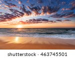 landscape view of a atlantic... | Shutterstock . vector #463745501