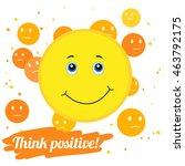 vector illustration. think... | Shutterstock .eps vector #463792175