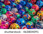 mexican culture celebration ... | Shutterstock . vector #463804091