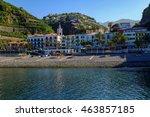 ponta do sol  portugal  madeira ... | Shutterstock . vector #463857185