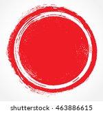 vector grunge circle. grunge... | Shutterstock .eps vector #463886615