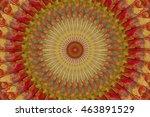 Abstract Circle Kaleidoscope...