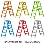 Ladders In Six Different Color...