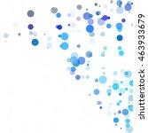 bubbles circle dots unique blue ...   Shutterstock .eps vector #463933679