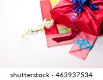 korean traditional gift and... | Shutterstock . vector #463937534