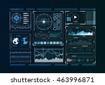 human user display . mixed media | Shutterstock . vector #463996871