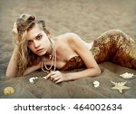 Mermaid With Golden Scales  ...