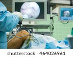arthroscope surgery | Shutterstock . vector #464026961