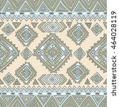 traditional tribal pattern in... | Shutterstock .eps vector #464028119