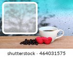 White Frame And Cup Of Coffee...