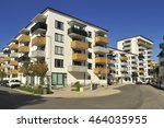 swedish apartment block in... | Shutterstock . vector #464035955