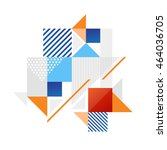 abstract vector banner with...   Shutterstock .eps vector #464036705