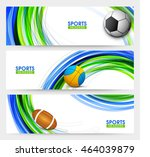 creative website header or... | Shutterstock .eps vector #464039879