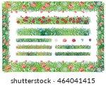 illustration on white... | Shutterstock .eps vector #464041415