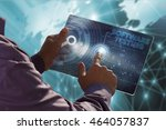 business  technology  internet... | Shutterstock . vector #464057837