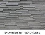the modern granite wall use... | Shutterstock . vector #464076551