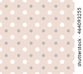 abstract vector dotted seamless ... | Shutterstock .eps vector #464093255