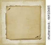 alienated old paper for cover... | Shutterstock . vector #46410685