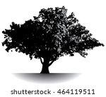 spectacular ancient tree | Shutterstock .eps vector #464119511