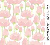 Flat Design Lotus Lilies...