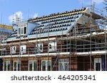 single family house under... | Shutterstock . vector #464205341