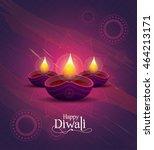 diwali festival design template ...   Shutterstock .eps vector #464213171