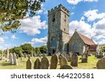 church isle of wight in summer  ... | Shutterstock . vector #464220581