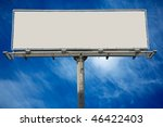 blank commercial billboard... | Shutterstock . vector #46422403