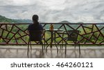 balcony which can see the... | Shutterstock . vector #464260121