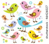 vector illustration of cute and ... | Shutterstock .eps vector #46426027