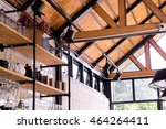 A Wooden Roof Structure.