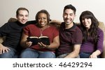 group of diverse friends...   Shutterstock . vector #46429294