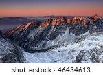 Sunrise In High Tatras  ...