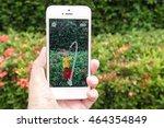 bangkok   aug 6  2016   apple... | Shutterstock . vector #464354849