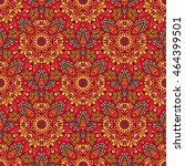 seamless pattern ethnic... | Shutterstock . vector #464399501
