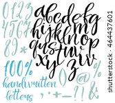 modern calligraphy roman... | Shutterstock .eps vector #464437601